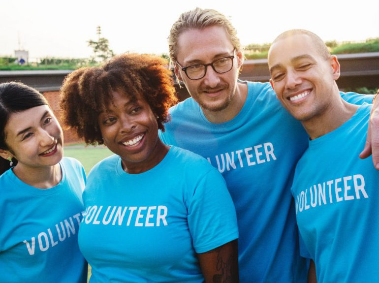 volunteers corporate citizenship