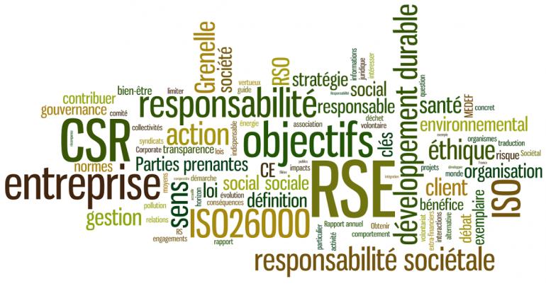 RSE - responsabilité sociale des entreprises