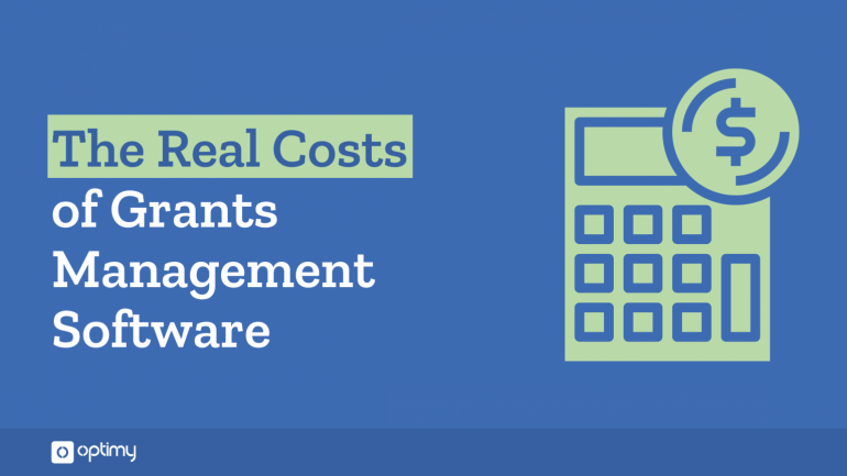 Costs of Grants Software